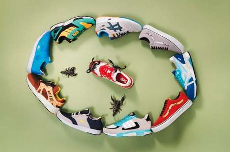 Deadly Shoe Photoshoots - The Series by Joseph Ford for Sneakers Magazine is Fear-Inducing