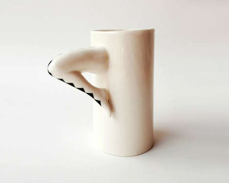 Leggy Coffee Cup Handles - Barceramics