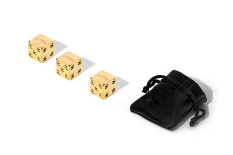 Ultra-Luxe Gambling Pieces - These Luxury Dice by
