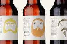Quirkily Bearded Brew Branding