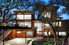 Modernized Urban Tree Houses