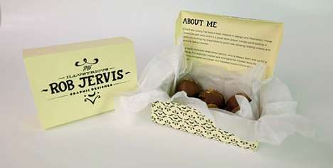 Decadent Chocolate Box Resumes - This Graphic Designer Turned His Resume into a Box of Chocolates