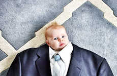 Suited Baby Photography