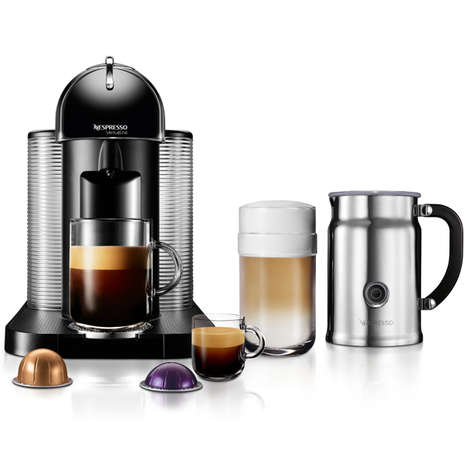 Upsized Coffee Machines - The Nespresso Coffee Company is Heeding to the Desire for More Caffeine
