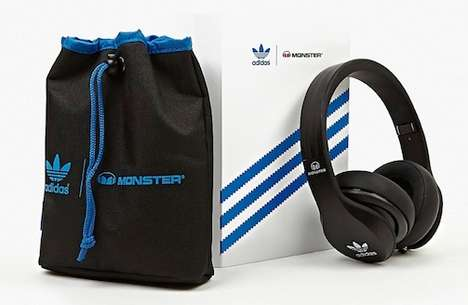 Hybrid Sportswear Headphones - Adidas Originals & Monster Pair Up for These Flashy New Headphones