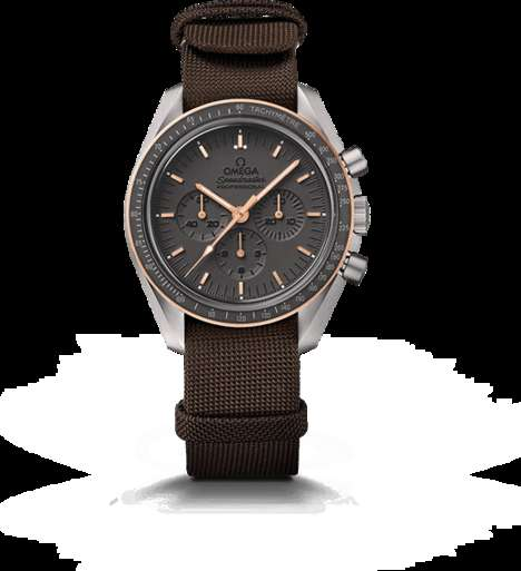 Moonwalk-Honoring Watches - This Speedmaster by Omega Honors Buzz Aldrin