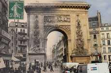 Blended Vintage Parisian Photography
