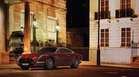 Retro British Spy Cars - The David Brown Speedback Looks Like Something James Bond Would Drive