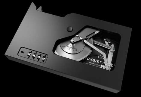 Pocket-Sized Signing Machines - This Signing Machine by Jaquet Droz Melds Signatures with Magic