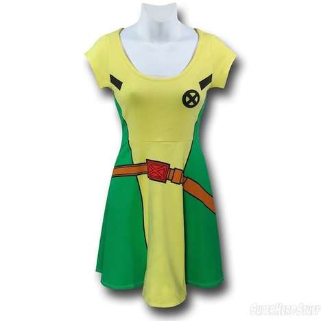 Stylish Superhero Frocks - This X-Men Rogue Ensemble is Comfy Cosplay