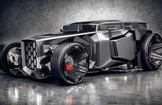 Experience the Future On Wheels with the Lamborghini-Influenced Rat Rods