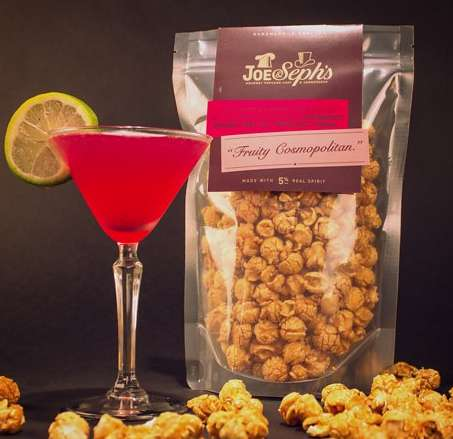 Boozy Popcorn Treats - Feel The Buzz with Joe & Seph's Mouthwatering Cocktail Popcorn
