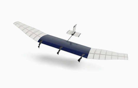 Intercontinental Social Media Drones - This Facebook Drone Looks to Connect the World with Internet