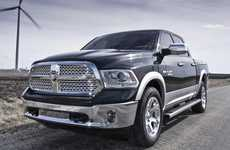 Sleek Fuel-Effecient Pickups - The New 2014 Ram 1500 Pickup is Powerful