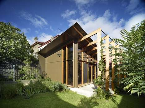 Rustic Wood-Accented Homes - This Home by FMD Architects Brings a Woody Feel to Your Home