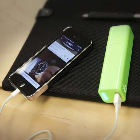 Self-Charging Battery Packs - These Battery Packs Charge at the Same Time as Your Phone