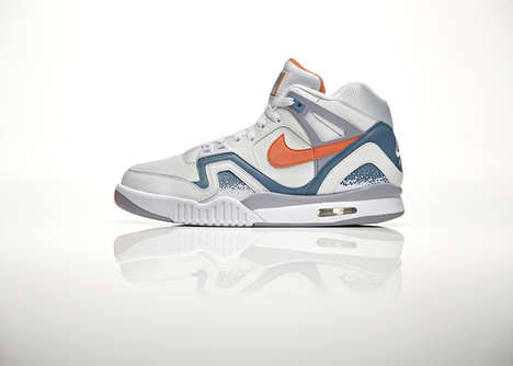 Retro Tennis Shoes - The Nike Air Tech Challenge II Shoe is Inspired by Andre Agassi