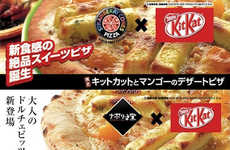 This Japanese Cafe Makes Kit Kat Pizza