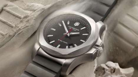 Rugged Swiss Watches - The Inox Watch Makes Light of the Most Severe and Unforgiving Conditions