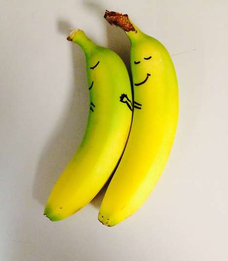 Comical Personified Snack Doodles - The