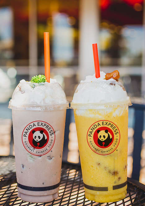 Entree-Inspired Milkshakes - The New Milkshakes from Panda Express Could Substitute as a Meal