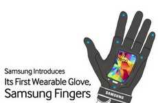 Samsung Unveils Its Inventive Wearable Smartphone Gloves