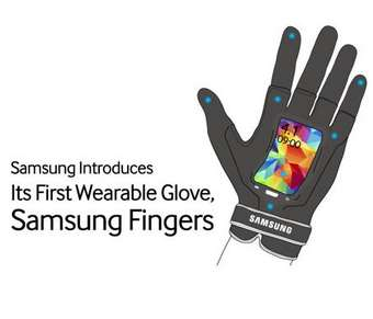 Radical Wearable Smartphone Gloves - Samsung Unveils Its Inventive Wearable Smartphone Gloves