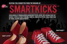Tech-Connected Shoes - These SmartKicks Offer Connectivity From the Ground Up