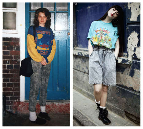 Nostalgic 90s Fashion Photos - The