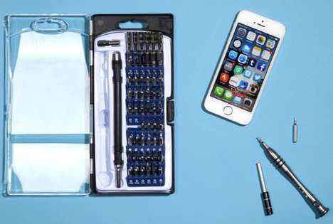 Smartphone Self-Repair Kits - iFixit and Apple Team Up for the iFixit Smartphone Repair Kit