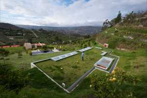 The House Gazebo by AR+C Makes You Feel Like a Hobbit Living with the Hills