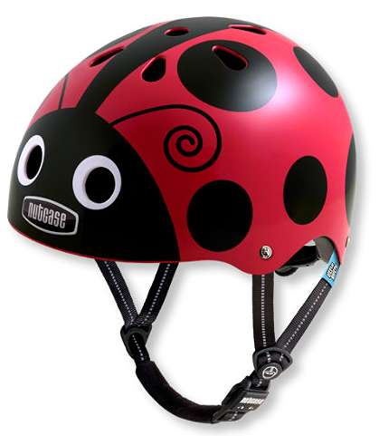 Vibrantly Printed Kid Helmets - L.L Bean's Line of Helmets are Strong and Fun for Kids