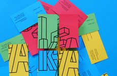 Playful Assembly Branding Ideas - Joe Ling's IKEA Corporate Visual Identity is Fun and Modern