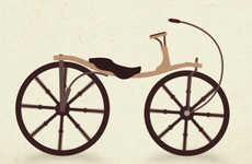 Thallis Vestergaard's Video Shows Us 200 Years of the Bicycle's Evolution