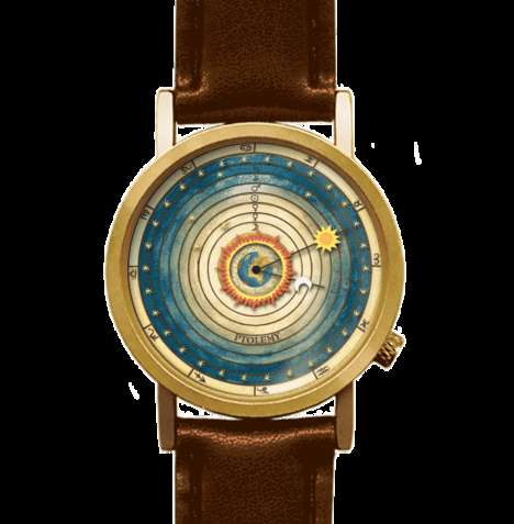 Astronomical Time-Tellers - The Ptolemeic Watch Uses the Sun and Moon to Determine the Time