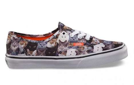 Feline Abuse Awareness Footwear - Vans Cat Shoes Were Made to Support the ASPCA