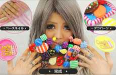 These Candy Crush Nails are Insanely Extravagant