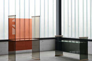 The New Diapositive Collection Uses Colored Glass Panels