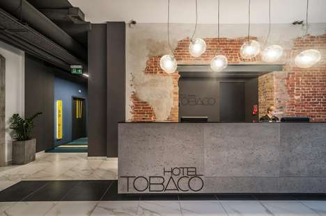 Reclaimed Factory Hotels - The Hotel Tobaco in Lodz Poland Makes You Feel at Home