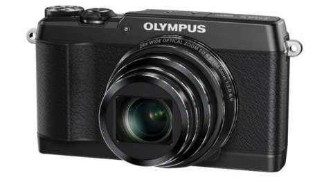 Compact Crisp-Capture Cameras - The Olympus Stylus SH-1 Has Image-Stabilization for Crisper Photos