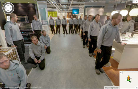 Multiplied Duplicate Art Projects - Alexis Jemus Made a Clone Army in IKEA