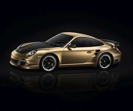 12 Gold-Plated Vehicles - From Gold-Plated Porches to $100,000 Bicycles