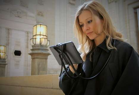 Wearable Gadget Harnesses - The Sospendo Holds Your Tablets, Smartphones & Cameras in Front of You