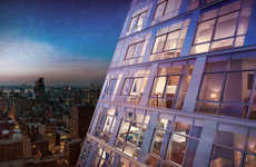 Cantilevered Glass Condos