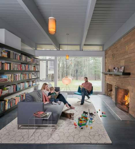 Authentically Remodeled Rural Homes - This Contemporary Warm Home is All About Comfort and Nature