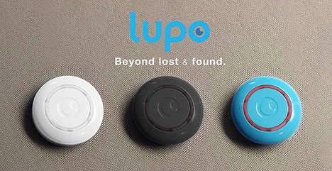 Circular Security Tracking Devices - The Lupo Tracking Unit Protects Your Valuables Remotley