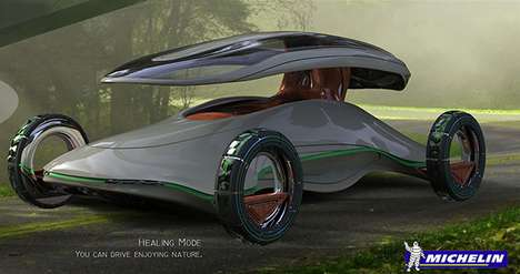 Transmogrifying Green Vehicles - The Paean Concept Car Facilitates a Revolutionary Escape to Nature