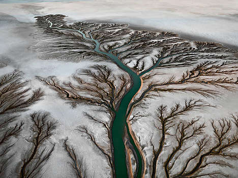 Abused Aqua Photo Projects - Watermark by Edward Burtynsky Brings Awareness to Diminishing Resource