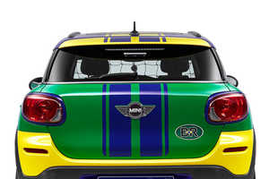MINI Unveiled Its Paceman GoalCooper for the 2014 World Cup in Brazil