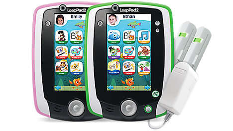 Break-Resistant Learning Tablets - The LeapPad2 is Tough and Teaches Children with Educational Games